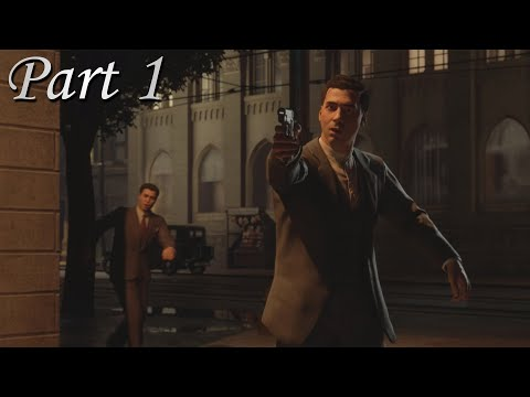 Mafia: Definitive - Part 1 - An Offer You Can't Refuse - Cinematic Gameplay Walkthrough