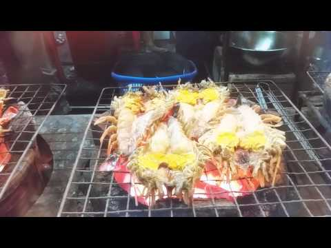 Grilling River Prawn – Thai Style
