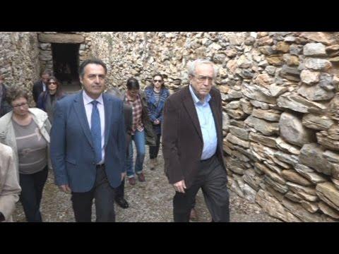 Επίσκεψη του Α.Μπαλτά στο Θολωτό Τάφο Αχαρνών