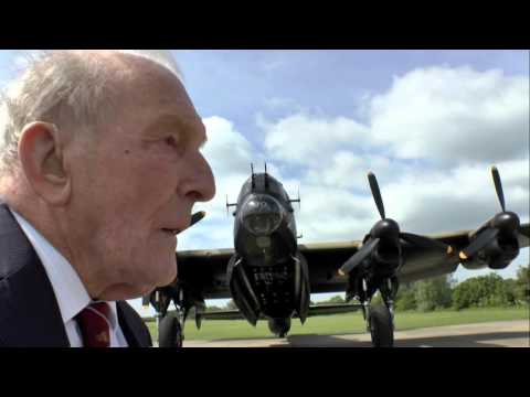 A message from George 'Johnny' Johnson, 'Dambuster'