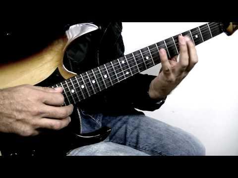 Outside Rock Fusion Guitar Lick