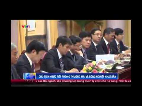 Chủ tịch nước tiếp Đoàn Phòng Thương mại Công nghiệp Nhật Bản - JCCI
