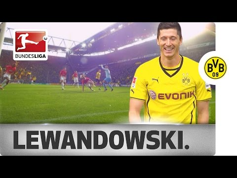 goals - In the past four-years Robert Lewandowski has been a goal scoring machine for Borussia Dortmund and even won the top scorers award in 2013/14. Now at Bayern Munich, it gives us the perfect...