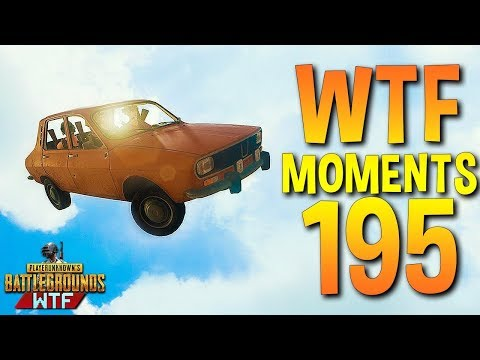 PUBG Funny WTF Moments Highlights Ep 195 (playerunknown's battlegrounds Plays) (видео)