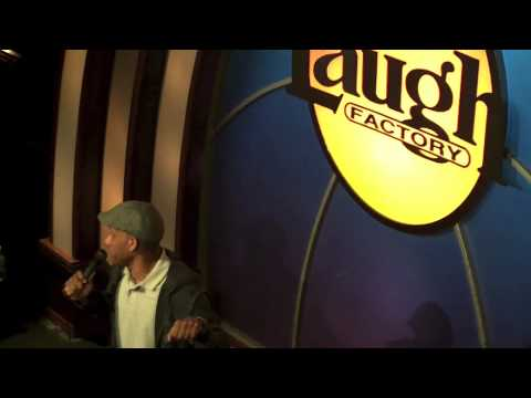 Malik S. Roasting at the Laugh Factory