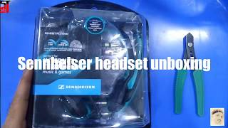 Sennheiser headset unboxing | Number one headset for call centre | Gaming Review