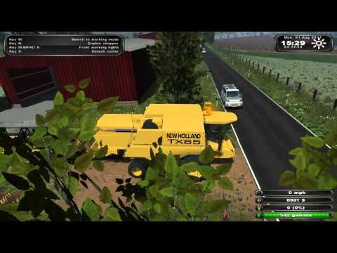 Farming Simulator 2011 Pro Farm Gameplay HD 1/2 by NetKing