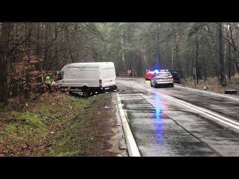 Wideo: Śmiertelny wypadek w pobliżu Polkowic