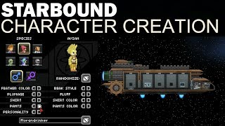 This is just a quick(ish) look at the Starbound Character Creation process. Enjoy, timestamps below! :D Timestamps: Start: 0:00...
