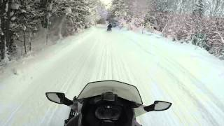 7. Test riding the 2014 ski doo Gsx 1200 !!!
