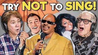 Video ELDERS REACT TO TRY NOT TO SING CHALLENGE #3 MP3, 3GP, MP4, WEBM, AVI, FLV Juni 2018