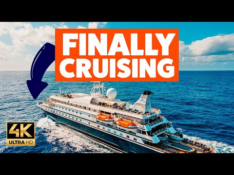 WE'RE CRUISING THE CARIBBEAN RIGHT NOW!! A fun day onboard - Ep 1