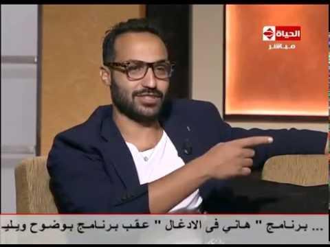 شاهد- أحمد فهمي لا ينفي ولا يقر بوجود بعد سياسي في كلب بلدي