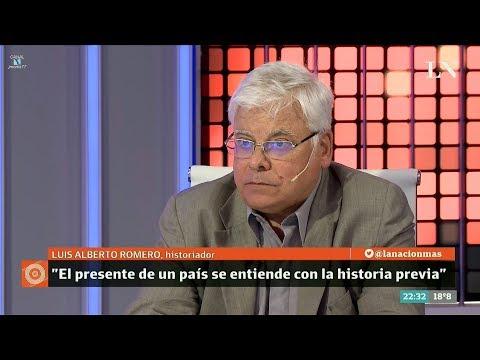 """Luis Alberto Romero en """"Odisea Argentina"""", de Carlos Pagni – 04/12/17"""