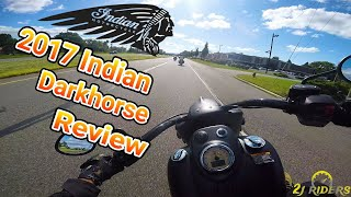 1. 2017 Indian Chief Dark Horse Review