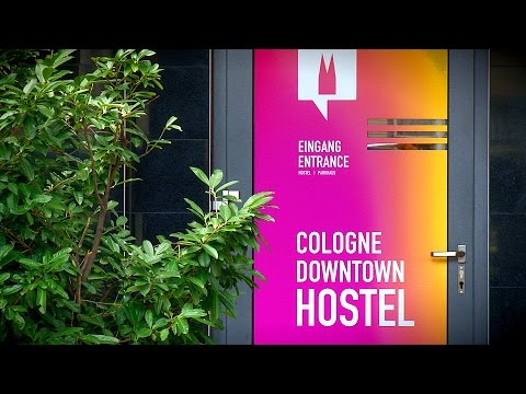 Video of Cologne downtown hostel