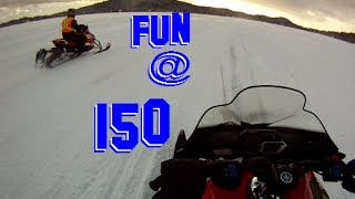 3. 2014 Yamaha Apex & Viper fun @ 150 Carlson sports