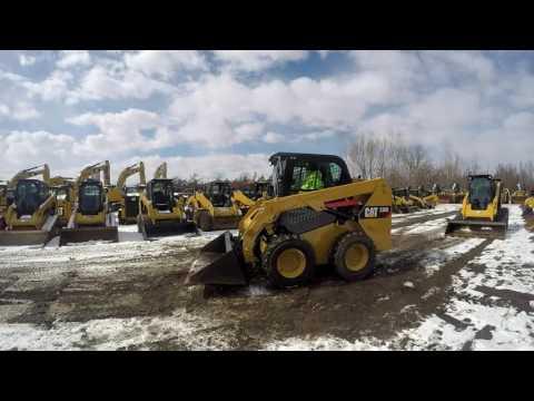 CATERPILLAR MINICARGADORAS 236D equipment video rq-6EuWlWGI