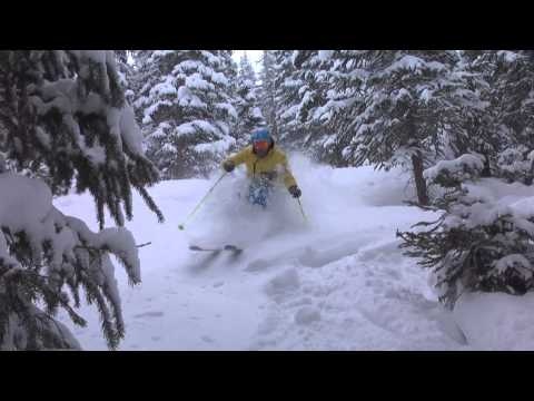 Monday Powder Day at Loveland Ski Area (3-4-13)