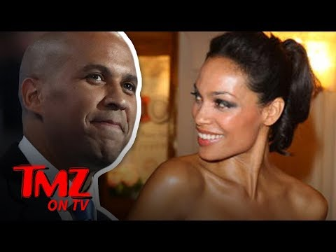 Cory Booker GUSHES About Girlfriend Rosario Dawson | TV