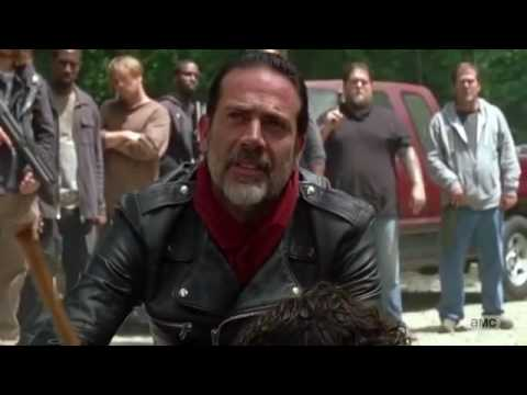 The Walking Dead 7x01 'Negan takes Daryl and Leaves' Scene Season 7 Episode 1