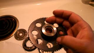 9. 2008 Polaris Sportsman 90 starter gear