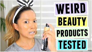 Weird Beauty Products TESTED! by ThatsHeart
