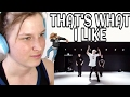 KOOSUNG JUNG CHOREOGRAPHY - THAT'S WHAT I LIKE (BRUNO MARS) | REACTION