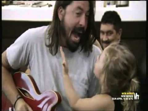 Dave Grohl's Daughter Wants To Go Swimming