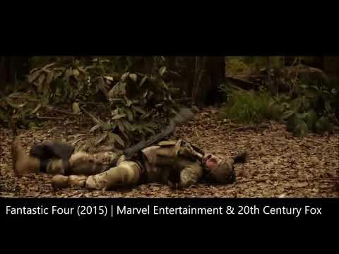 Fantastic Four (2015) Fight Scenes