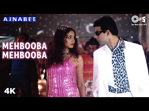 mehbooba - This song completely is responsible for Ajnabee's success which had broken all records & was a hit on charts! Credits of the songs are as follows Singer(s) -...