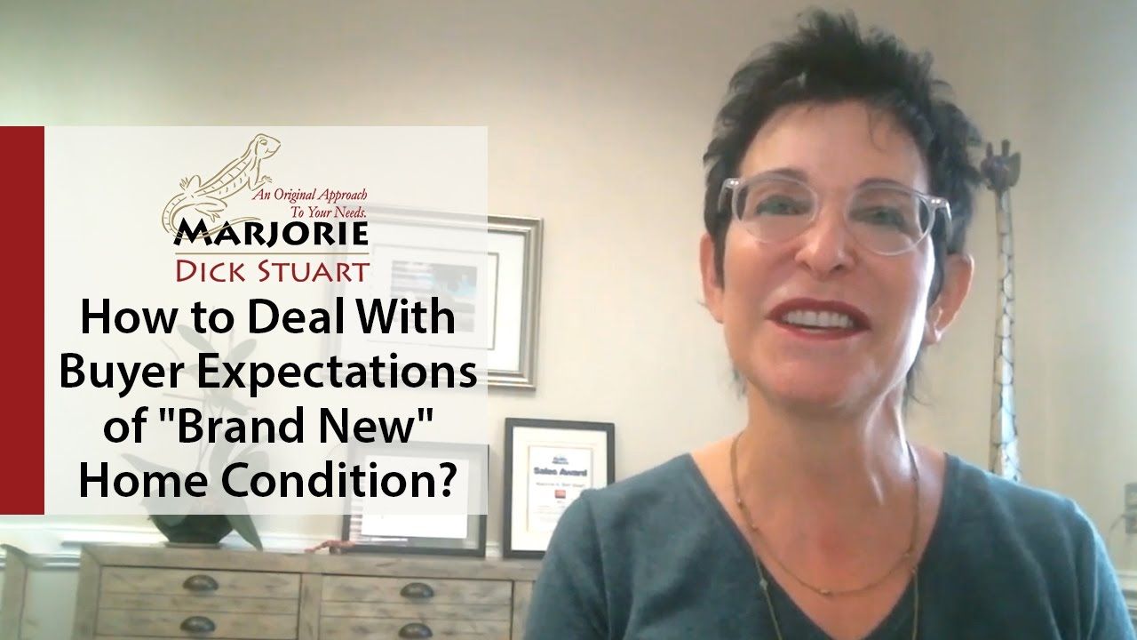 What's Working Now! - How to Deal With Buyer Expectations of