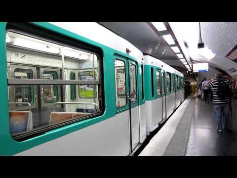 [Paris] MF67 Métro 10 - Gare d'Austerlitz