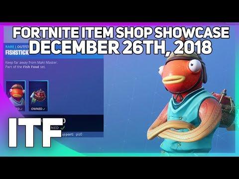download fortnite item shop new fish skin december 26th 2018 fortnite battle royale mp3 - fortnite item shop 3am