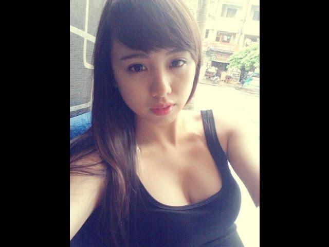 Hotgirl Quỳnh Anh Ruby trên tay Nokia X2