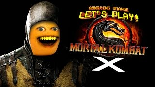 Annoying Orange Let's Play Mortal Kombat X for iOS!