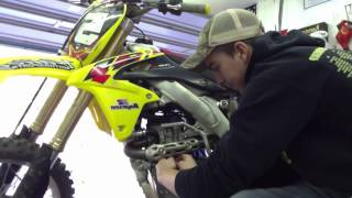 10. How to change the oil on a RMZ - 450 2013 pt. 2