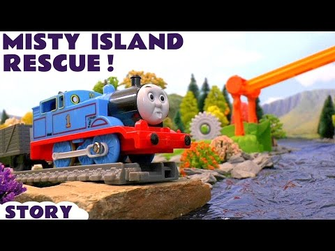 Thomas and Friends Toy Trains Misty Island Rescue Adventures Zip-Line - Train Toys For Kids TT4U