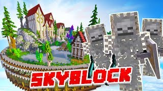 THE DEMONIC REALM! - Minecraft SKYBLOCK #10 (Season 3)