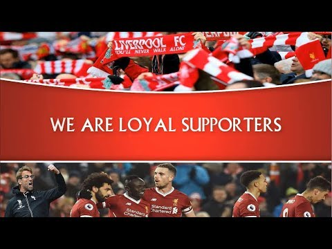 Liverpool FC Songs -  ALLEZ ALLEZ ALLEZ -  With Lyrics