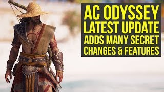 Assassin's Creed Odyssey Update Added MANY Secret Features & Changes! (AC Odyssey secrets)