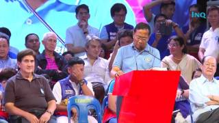 Binay hits Aquino over gov't spending, vows to scrap income tax