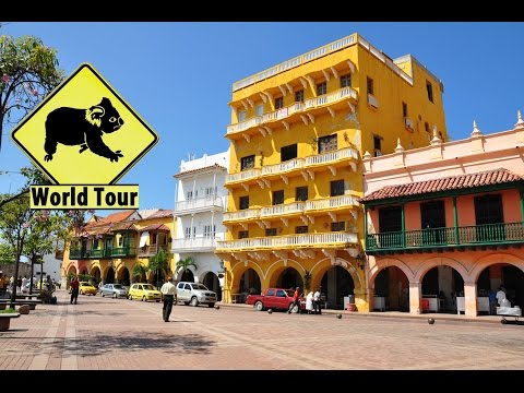 Voyage en Colombie, Ville de Cartagena (Travel Colombia) Tour du monde (around the world) vidéo