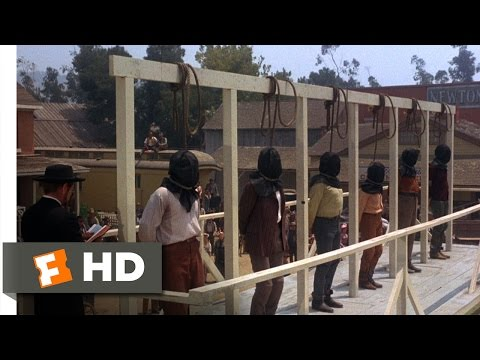 Hang 'Em High (10/12) Movie CLIP - A Hanging and a Shooting (1968) HD