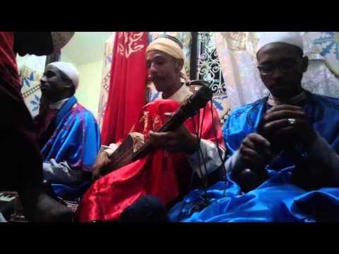 Lila Màalam Mustapha -'_ Hachimo  _-' & Gnawa Oulad Bambra