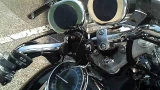 5. 2007 Honda Shadow Spirit 750c2  (new mustang seat)
