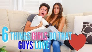 "6 Things Girls Do That Guys Love  Brent RiveraGive this video a thumbs up of you enjoyed it! or if you have thumbs!If you're new here, don't forget to subscribe for weekly videos! Welcome to the fam! Hang out with me on Social Media:SnapChat, Add me: TheBrentRiveraInstagram: @BrentRiveraTwitter: @BrentRiveraVine: @BrentRiveraFacebook: @BrentRiveraI have all rights to use this audio in this video according to Final Cut Pro's/YouTube's ""terms of use."""