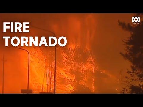 Australian Fire Tornado | Canberra Bushfires 2003