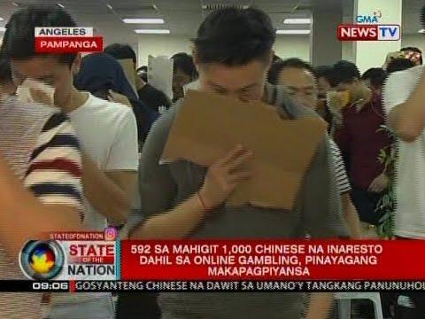 592 sa mahigit 1,000 chinese na inaresto dahil sa online gambling, pinayagang makapagpiyansa (видео)