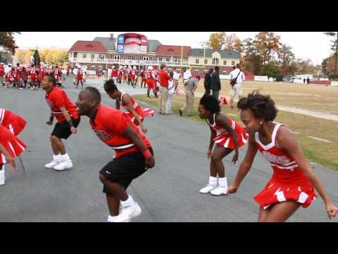 2013 WSSU High stepping  cheerleaders